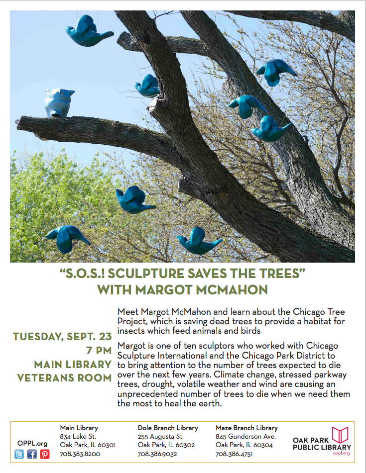 Sculpture saves Trees